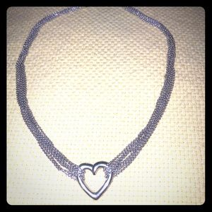 Jewelry - 925 SS heart necklace